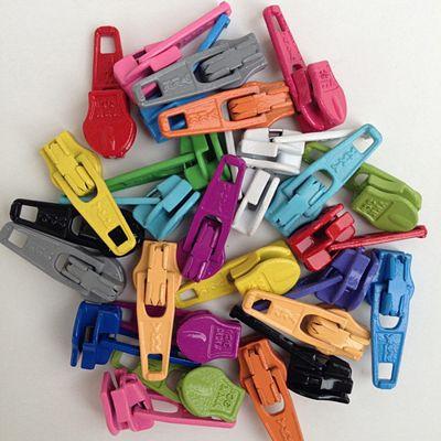 Candy Color Ykk Zipper Pulls Assorted