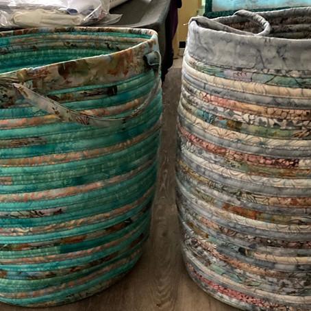 Baskets & Bowls with Batt-Filled Strips