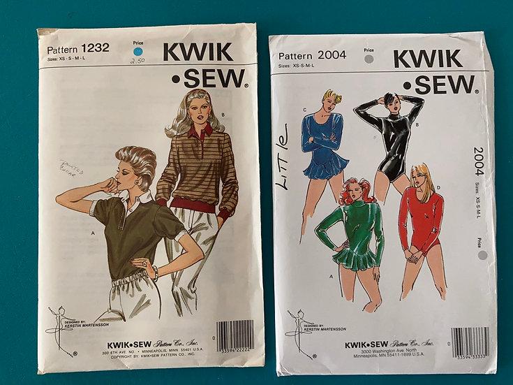 Kwik Sew Patterns:  1232 & 2004