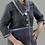 Thumbnail: Mohair Sweater Knit Sweatshirt Jacket