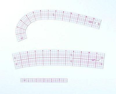 Curve Ruler Set w/ Mini Ruler