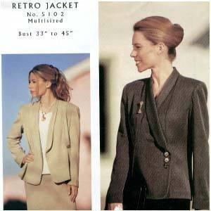 Retro Jacket-Londa's 2 Cents Worth