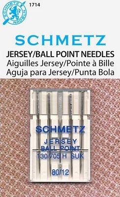 Schmetz Jersey Needles 70/12 Pk 5