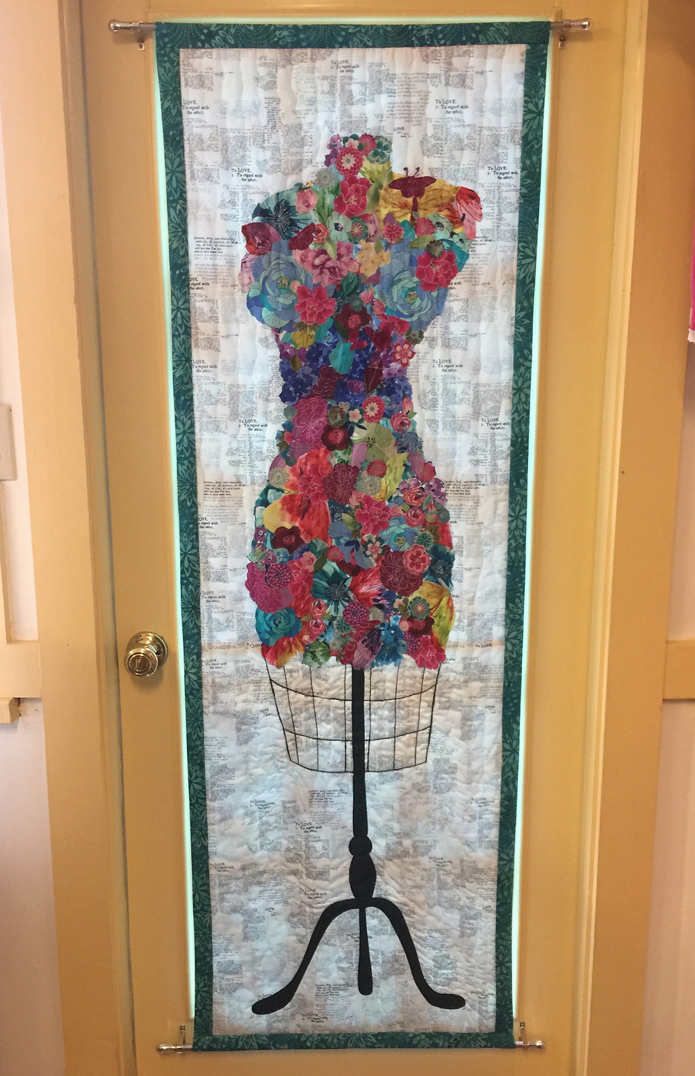 Finished Dressform Collage