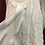 Thumbnail: Ivory Boho Lace and Ruffled Fabric Hand-Made Tunic Top on a Sweater Base (14-16)
