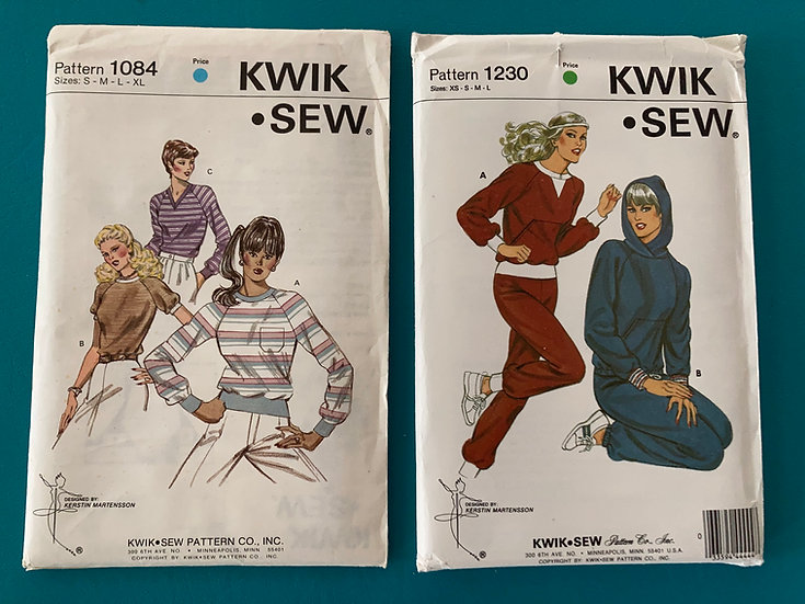 Kwik Sew Patterns:  1288 & 1301