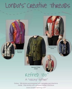 Refined Too Pattern Booklet - PDF Delivery