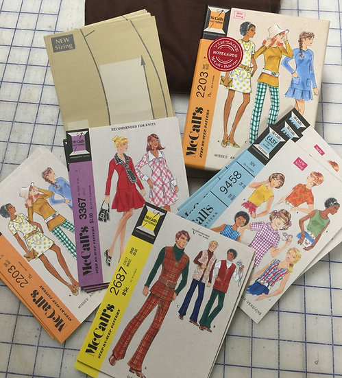 Vintage McCall's Patterns Notecard - BoxedSet