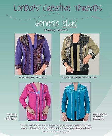 Genesis Plus- Creative Sweatshirt Pattern Booklet -PDF Delivery
