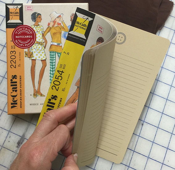 Vintage McCall's Patterns Notebook