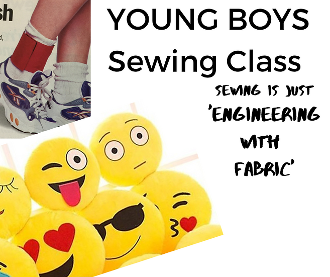 Young Sewers - BOYS CLASS