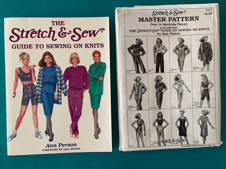 Stretch & Sew Master Pattern + The Stretch & Sew Guide to Sewing on Knits