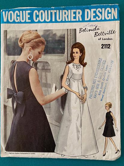 Vogue Couturier Design Pattern 112 - Belinda Bellville-Size 16