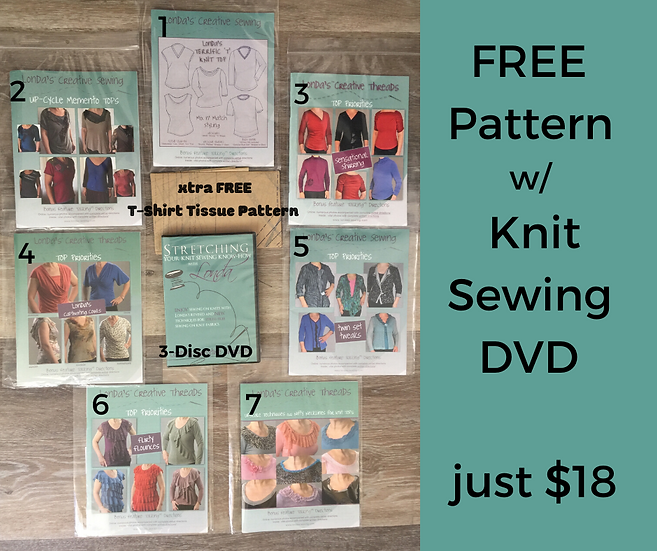 FREE Pattern with Knit DVD Purchase