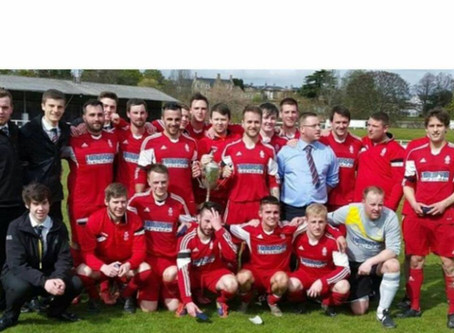 Over £2000 donation from Forres Thistle FC Charity Run