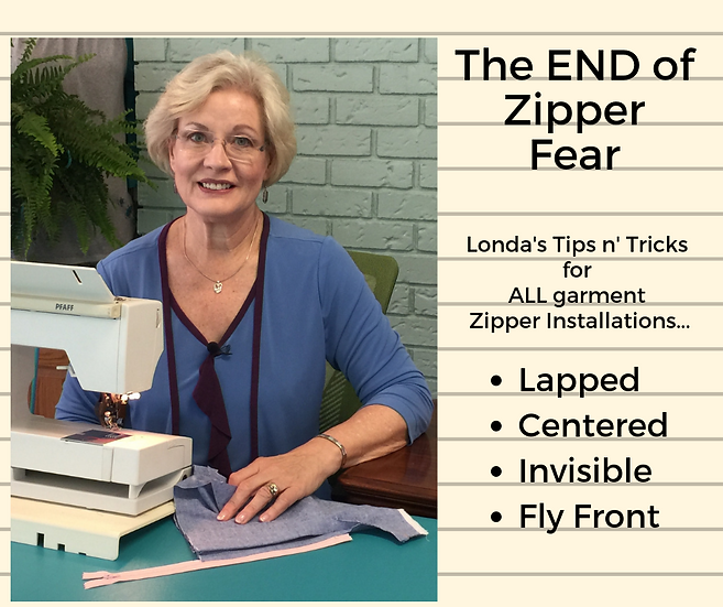 Zipper Manifesto-How to Sew in Zippers...Londa's Way