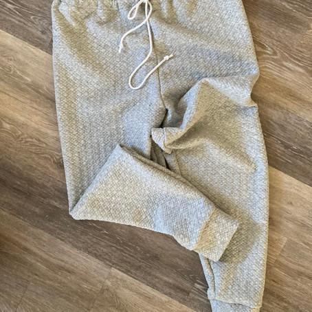 Refinements on One Seam Sweat Pants