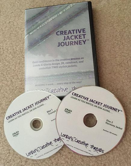 Creative Jacket Journey DVD Sweatshirt Make-Overs