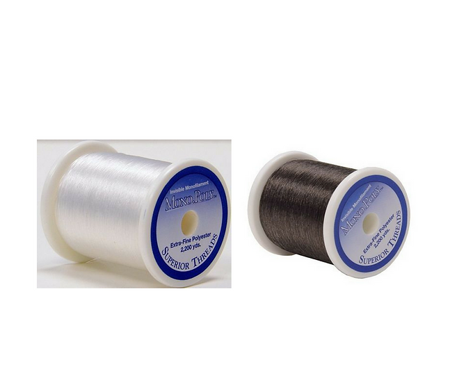 Superior Mono-Poly Invisible Thread