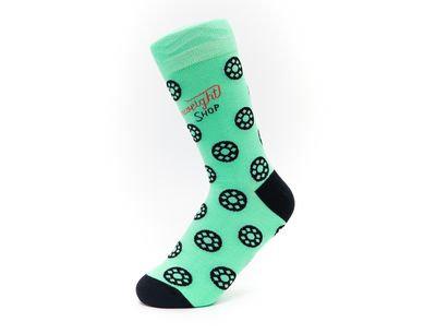 Socks - Bobbins on Jade