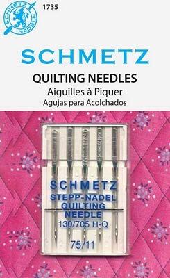 Schmetz  Quilting Needles 75/11 5Pk