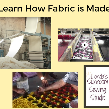 Learn How Fabric is Made