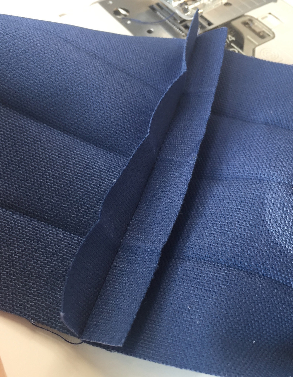 stitch Straps together to be one huge loop.