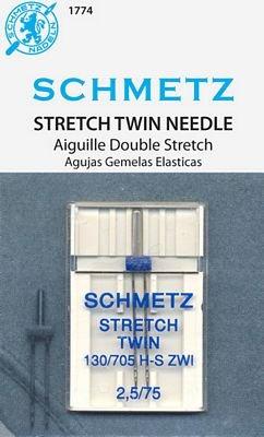 Schmetz Twin Stretch Needle - 2.5/70