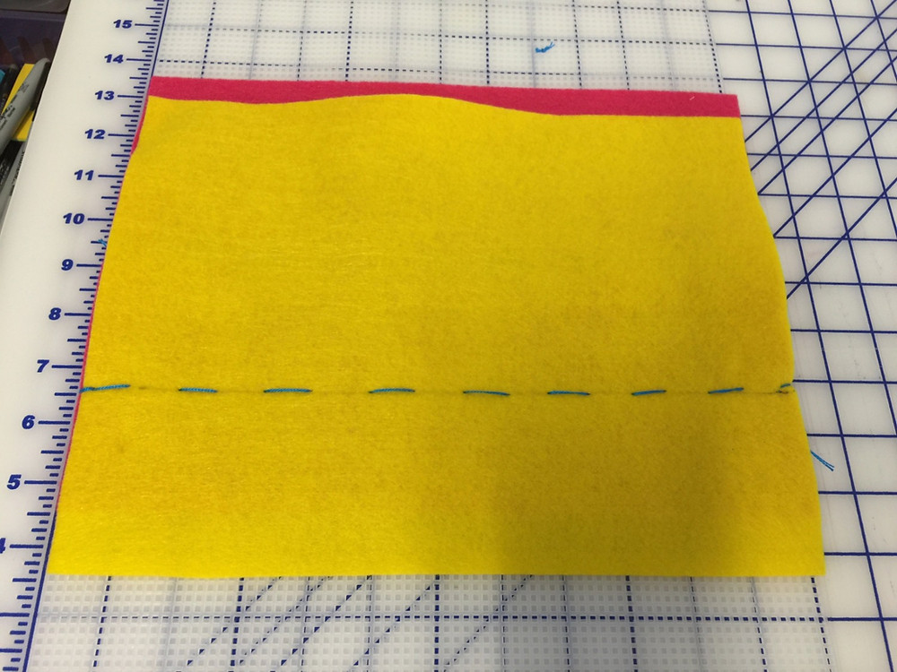 Position and Stitch Felt B in place.