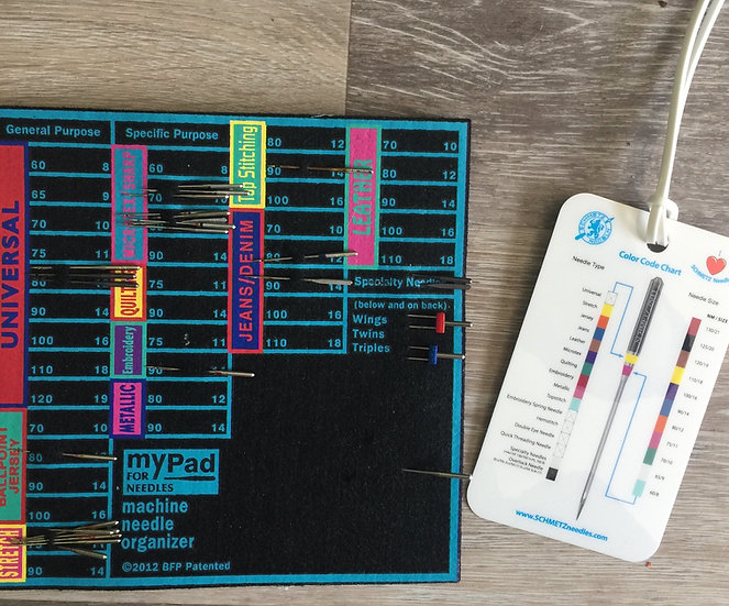 My Pad for Sewing Machine Needle Storage + FREE Needle ID Tag