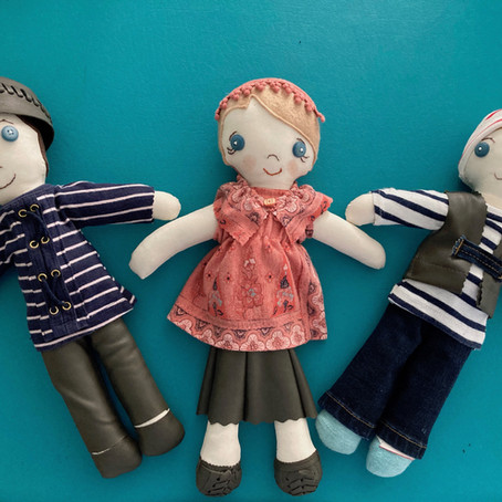 Memento Soft Doll Sewing ProjectS