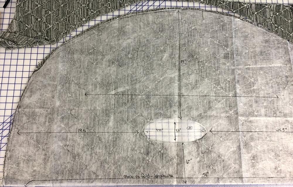 circle cape pattern