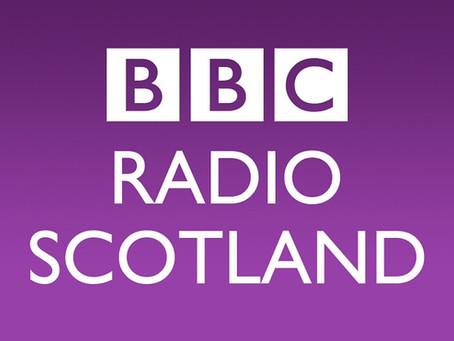 Fin and Jon on BBC Radio Scotland