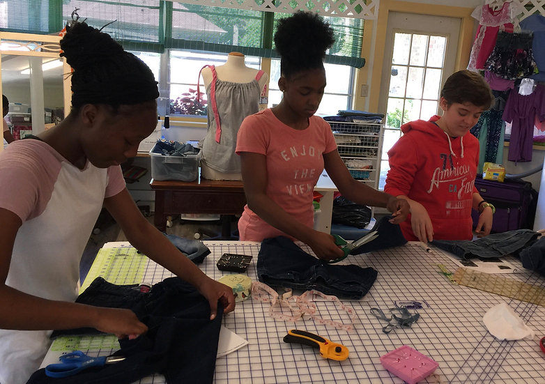 Thursday Kids Sewing Class Nov. 5, 12, 19