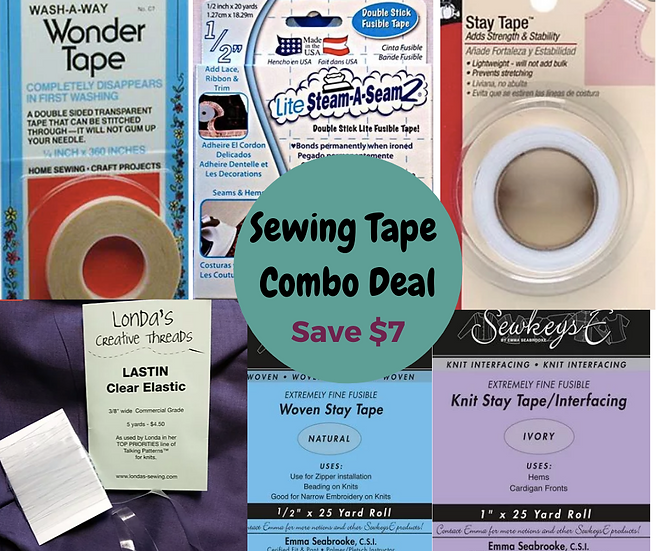 Sewing Tape Combo Deal