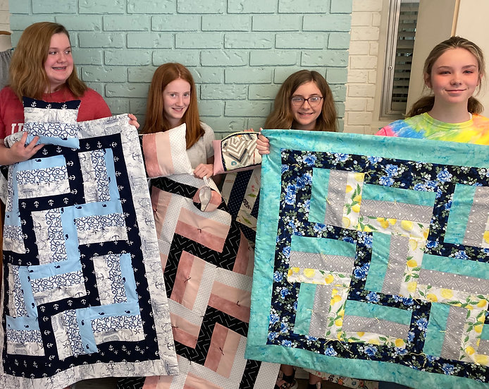 Summer Sewing Camp:  June 21-24