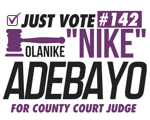 Nike for County Court Judge