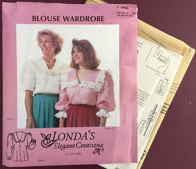 Blouse Wardrobe Sizes 6-12 Londa's Elegant Creations