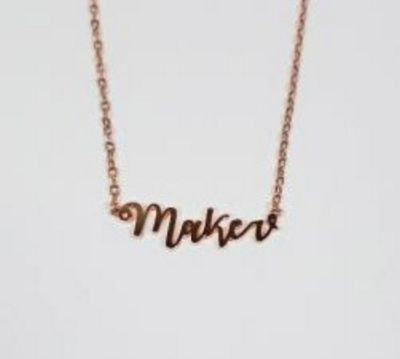 Maker Necklace - Gold/Silver/Rose Gold