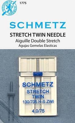 Schmetz  Twin Stretch Needle - 4.0/75