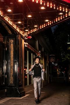 Rialto downtown senior photography