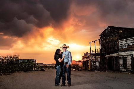 Mescal-movie-set-portrait-photographer-tucson-family-photographer-western-arizona-sunset-s