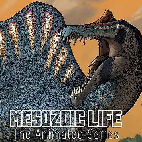 Spinosaurus aegyptiacus Impresión Firmada Exclusiva