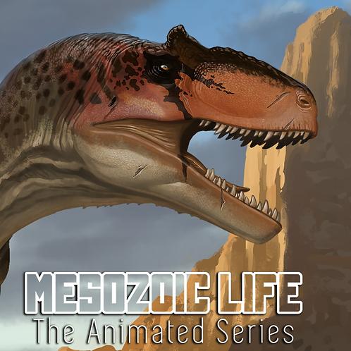 Allosaurus fragilis Impresión Firmada Exclusiva