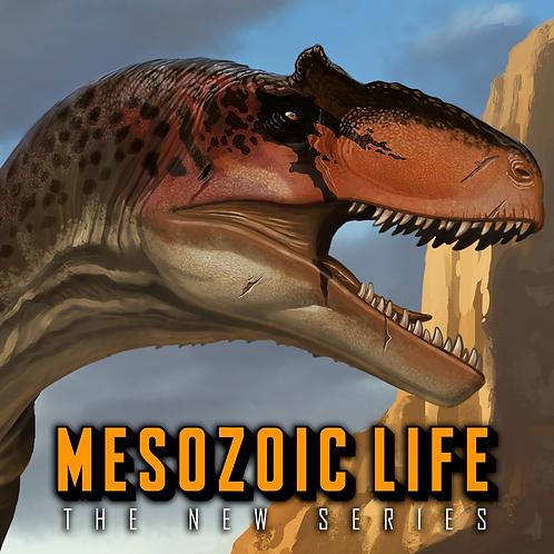 Allosaurus fragilis Exclusive Signed Print