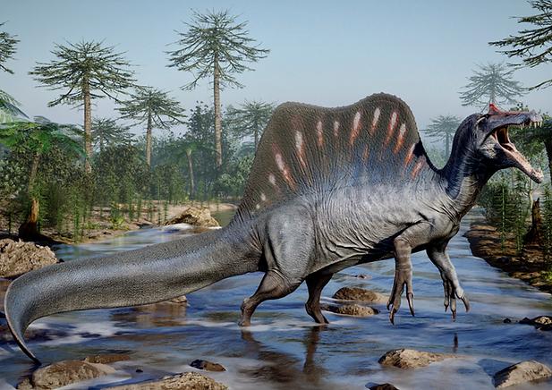 Spinosaurus Ramses Render (Max Bellomio)
