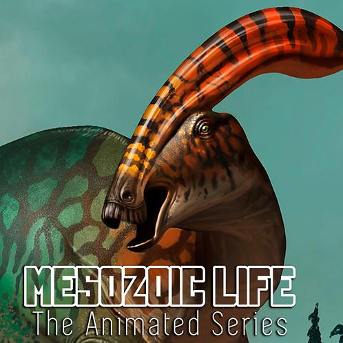 Parasaurolophus walkeri Impresión Firmada Exclusiva