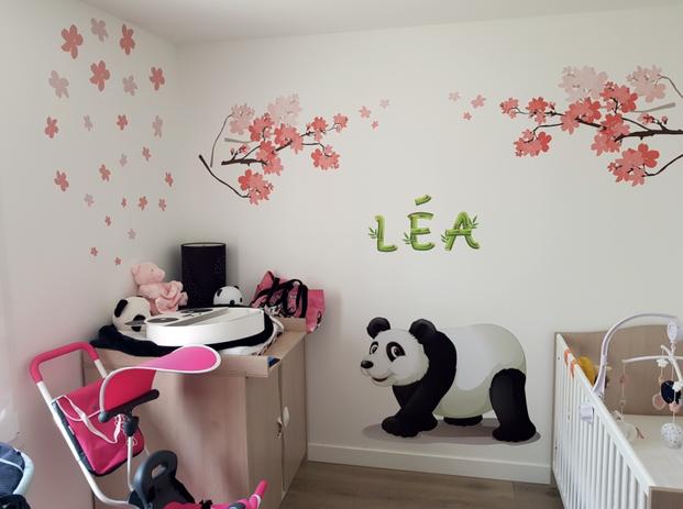 Papier peint Chambre enfant panda.png