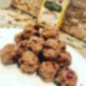 Healthy cake balls