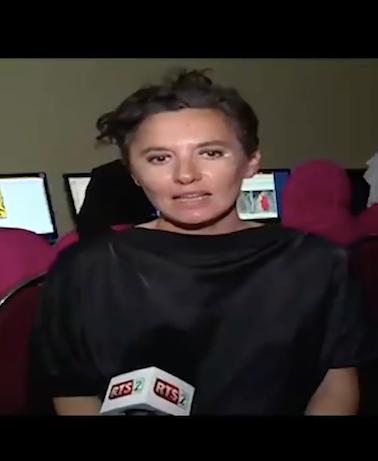 """""""Tam Tam"""", RTS2 TV, Dakar, Sénégal."""